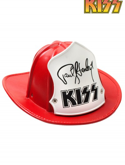 Paul Stanley Red Firehouse Fire Hat buy now