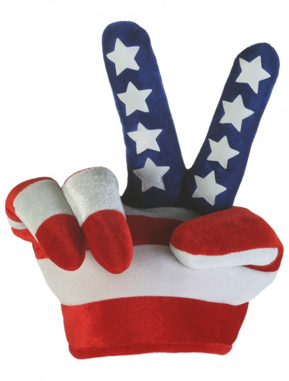 Peace Sign Flag Hat buy now