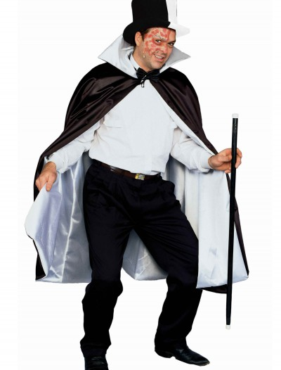 Phantom Black and White Cape buy now