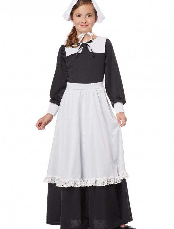 Pilgrim Girl Costume buy now