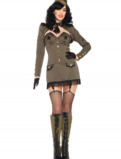 Pin Up Army Girl Costume buy now