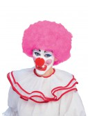 Pink Afro Clown Wig buy now