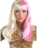 Pink and White Diva Wig buy now