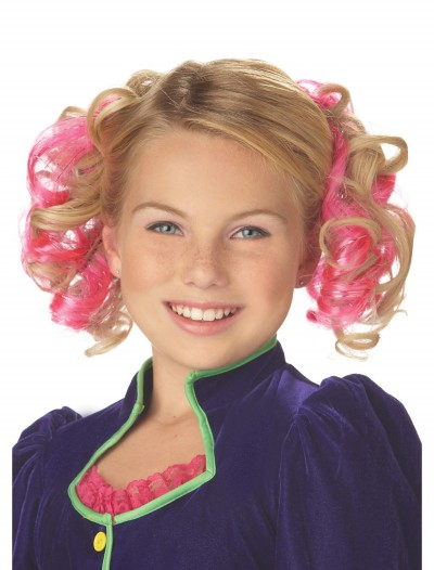 Pink Curly Hair Clips buy now