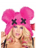 Pink Dead Mouse Furry Hood buy now