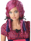 Pink / Purple Doll Curls Wig buy now