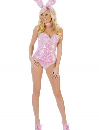 Pink Sequin Bunny Costume buy now