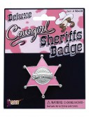 Pink Sheriff Badge buy now