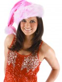 Pink Striped Santa Hat buy now