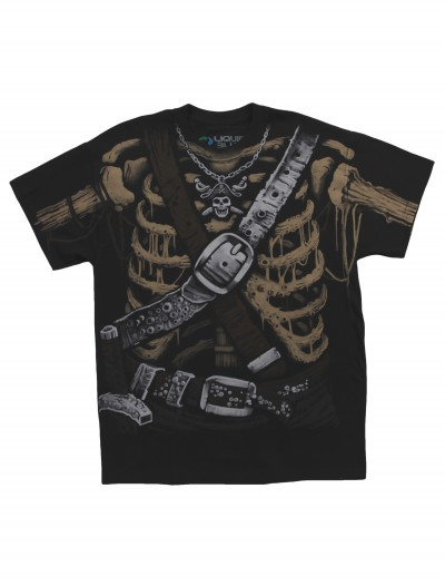 Pirate Bones Costume T-Shirt buy now