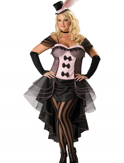 Plus Burlesque Babe Costume buy now