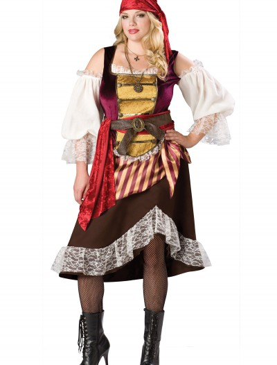 Plus Deckhand Darlin' Pirate Costume buy now