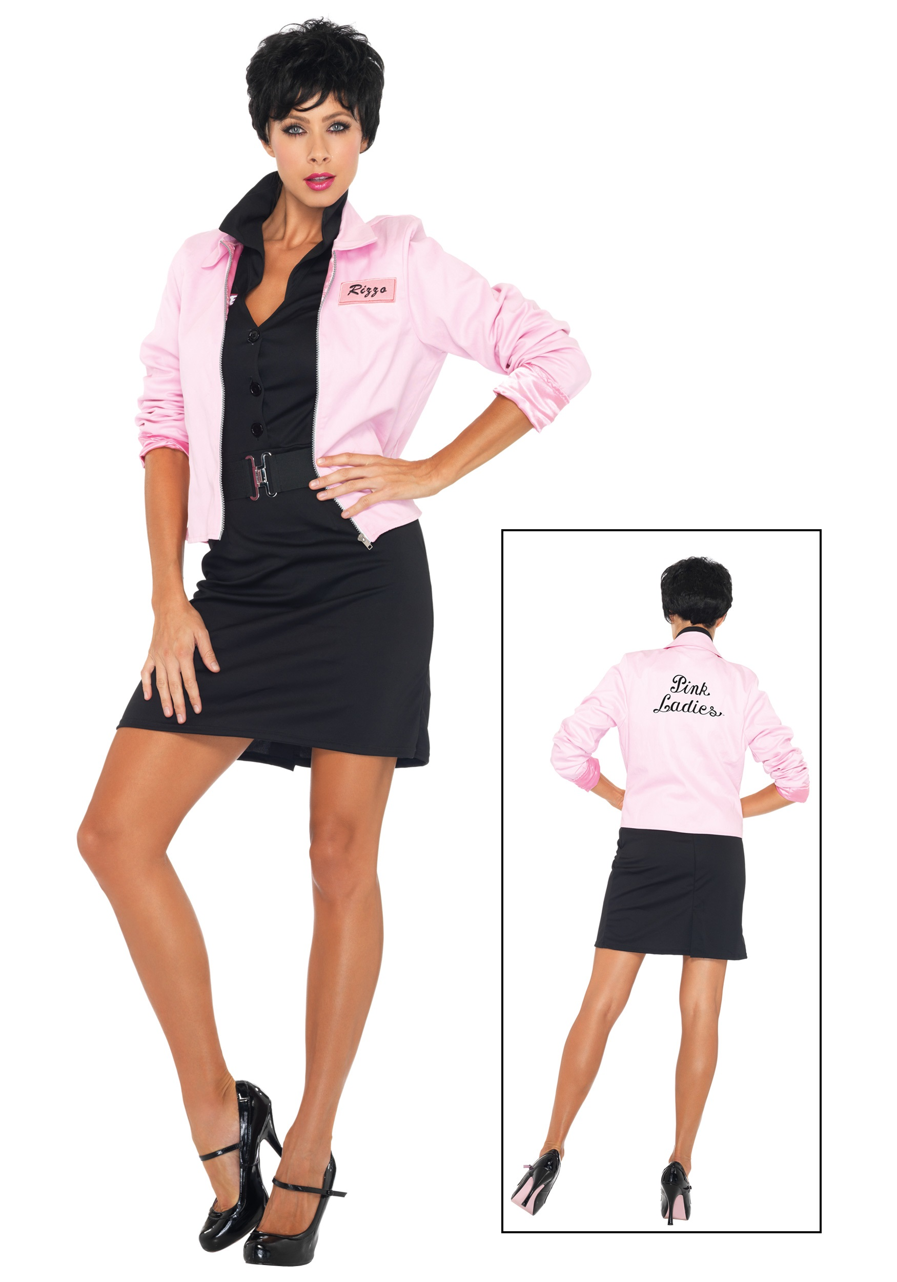 plus grease pink ladies jacket