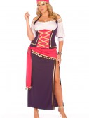 Plus Gypsy Maiden Costume buy now