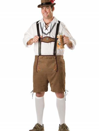 Plus Oktoberfest Guy Costume buy now