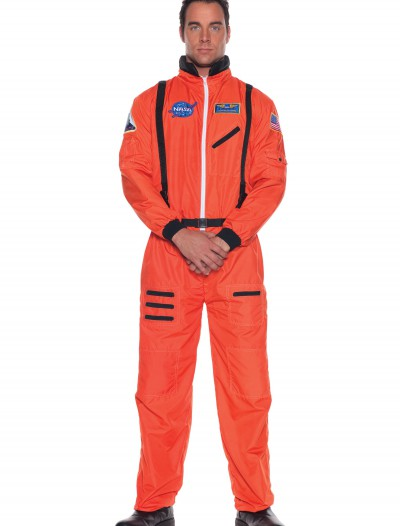 Plus Orange Astronaut Costume buy now