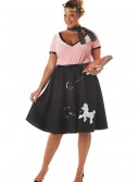 Plus Size 50s Sweetheart Costume buy now