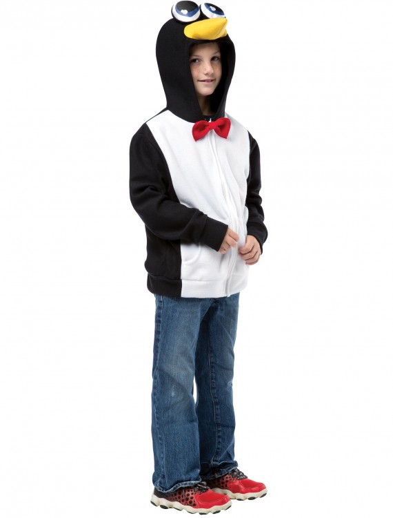Plus Size Adult Penguin Hoodie buy now