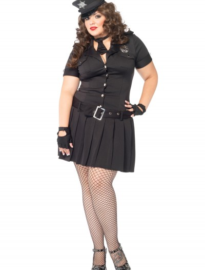 Plus Size Arresting Officer Costume buy now