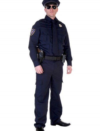 Plus Size Authentic Cop Costume buy now