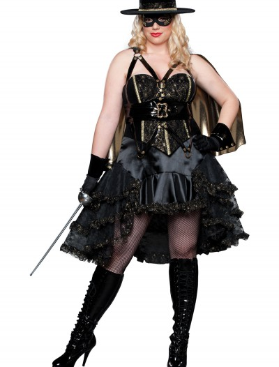 Plus Size Beautiful Bandida Costume buy now
