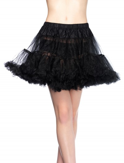 Plus Size Black Tulle Petticoat buy now