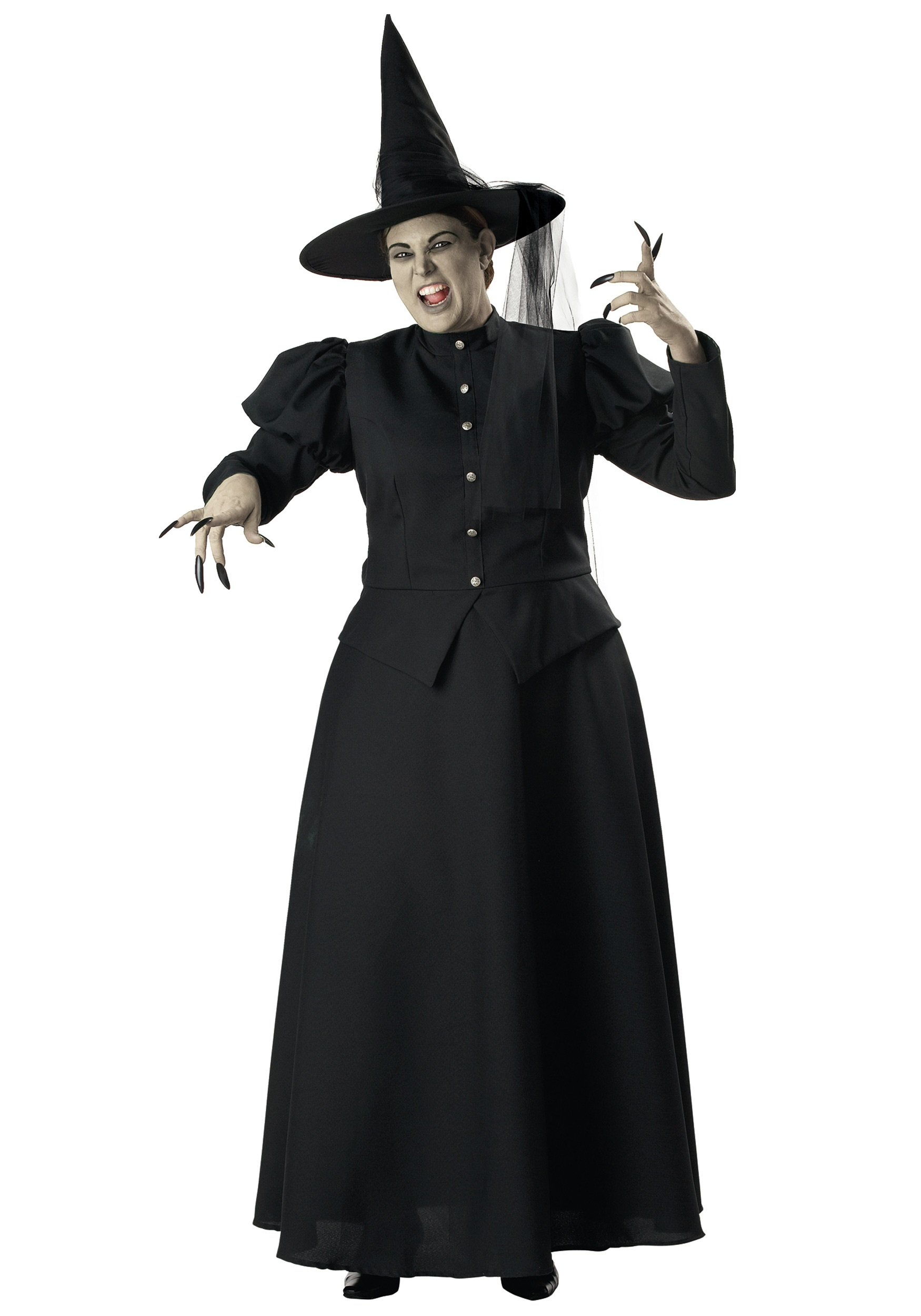 Plus Size Black Witch Costume - Halloween Costumes