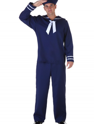 Plus Size Blue Sailor Costume buy now