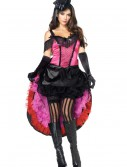 Plus Size Can Can Girl Costume buy now