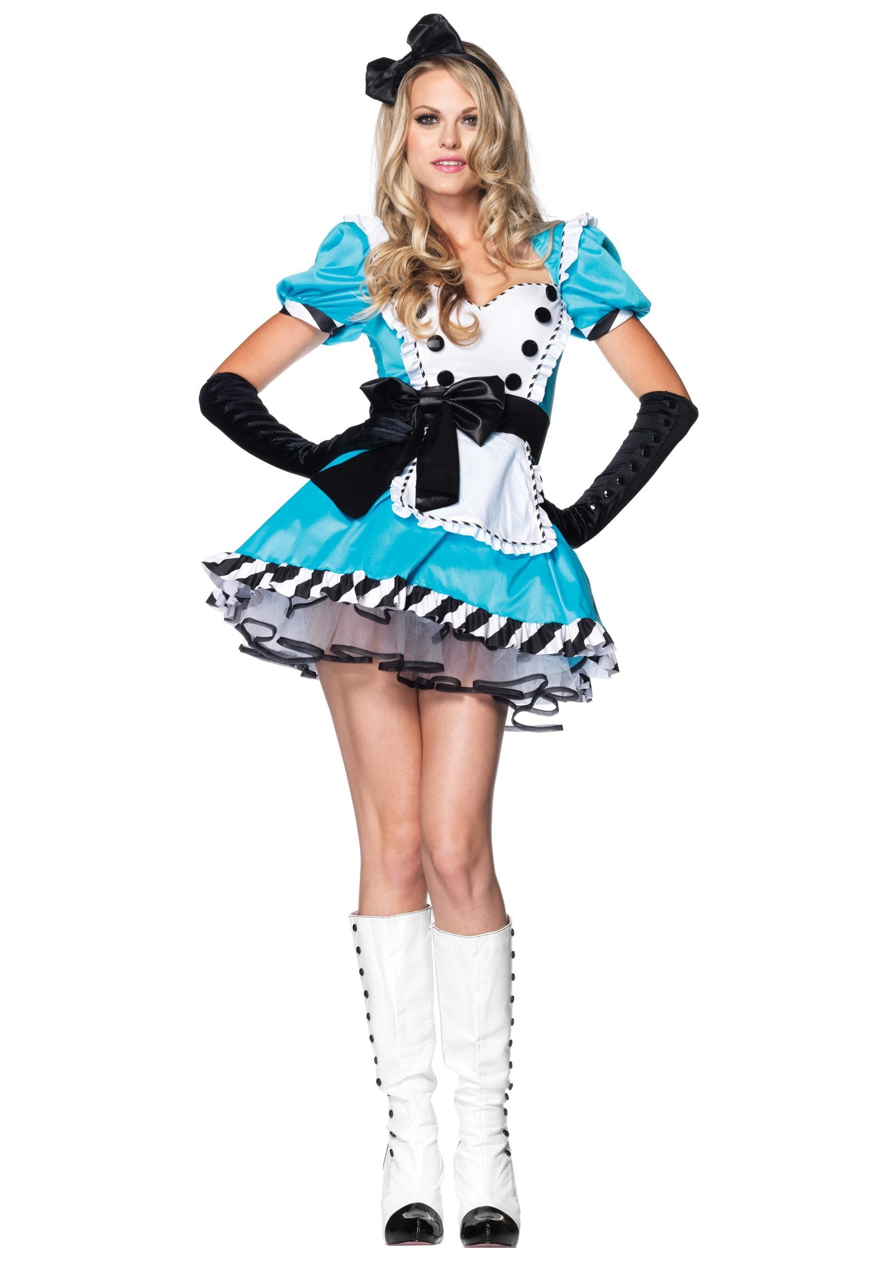 Plus Size Charming Alice Costume  sc 1 st  Halloween Costumes : pocahontas plus size costume  - Germanpascual.Com