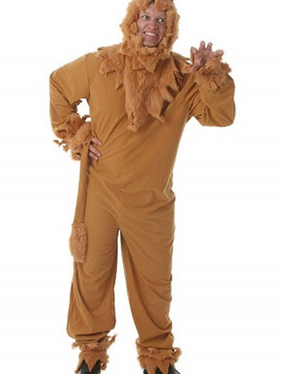 Plus Size Lion Mens Costume buy now