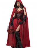 Plus Size Dark Red Riding Hood buy now