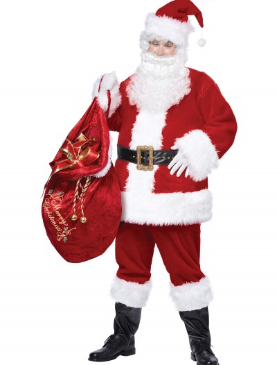 Plus Size Deluxe Classic Santa Suit buy now