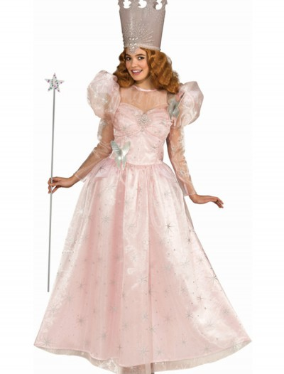 Plus Size Adult Glinda the Good Witch Deluxe Costume buy now