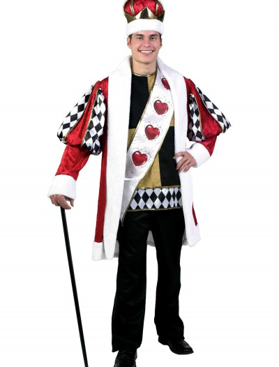 Plus Size Deluxe King of Hearts Costume buy now