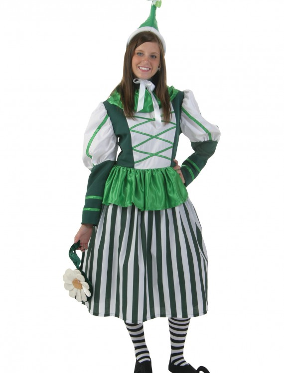 Plus Size Deluxe Munchkin Woman Costume buy now