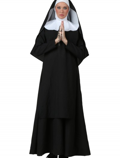Plus Size Deluxe Nun Costume buy now