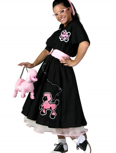 Plus Size Deluxe Poodle Skirt Costume buy now