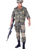 Plus Size Deluxe U.S. Army Ranger Costume buy now
