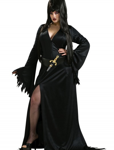 Plus Size Elvira Costume buy now
