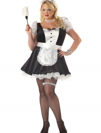 Plus Size Fiona the French Maid Costume buy now