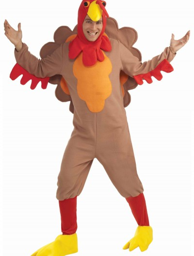 Plus Size Fleece Turkey Costume buy now