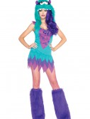 Plus Size Fuzzy Frankie Monster Costume buy now