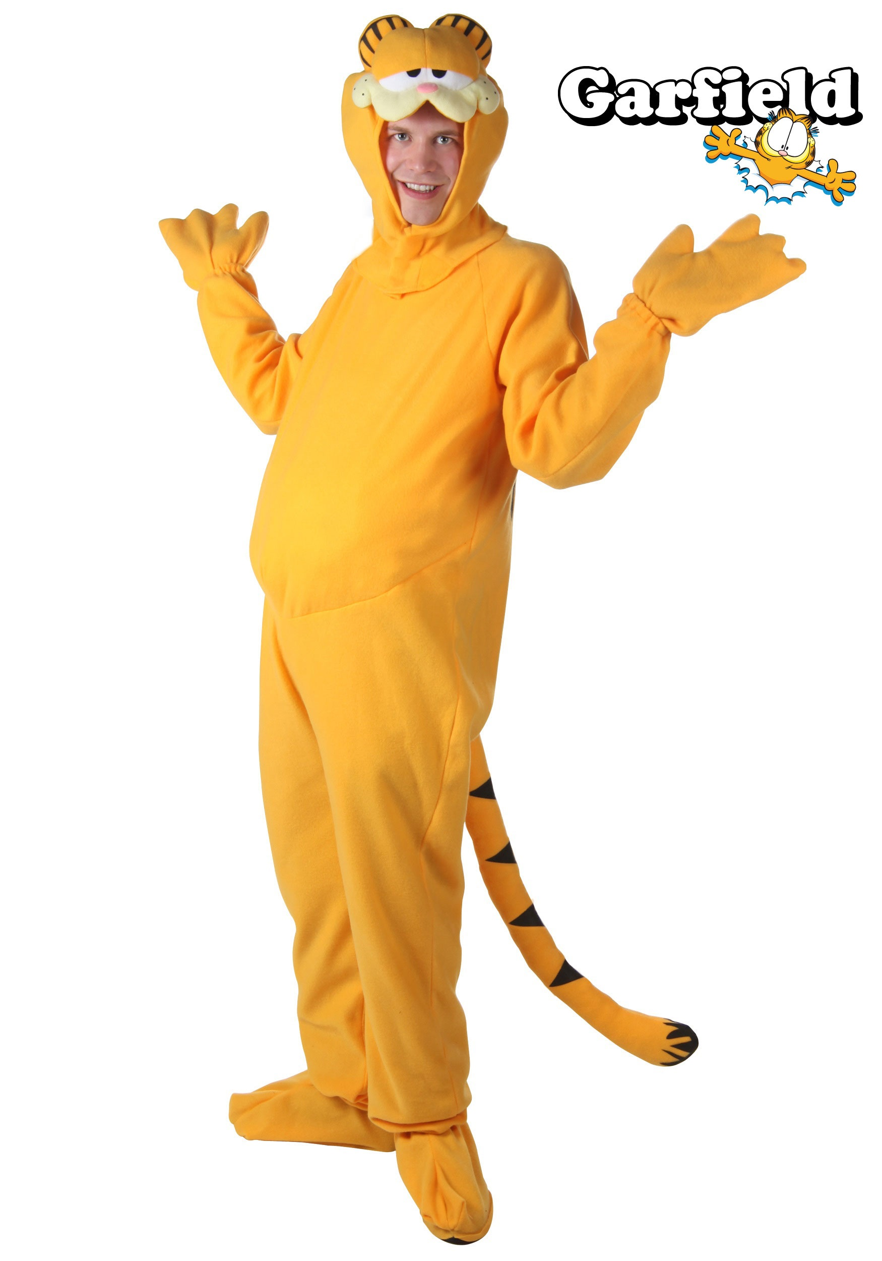 Plus Size Garfield Costume  sc 1 st  Halloween Costumes & Plus Size Garfield Costume - Halloween Costumes