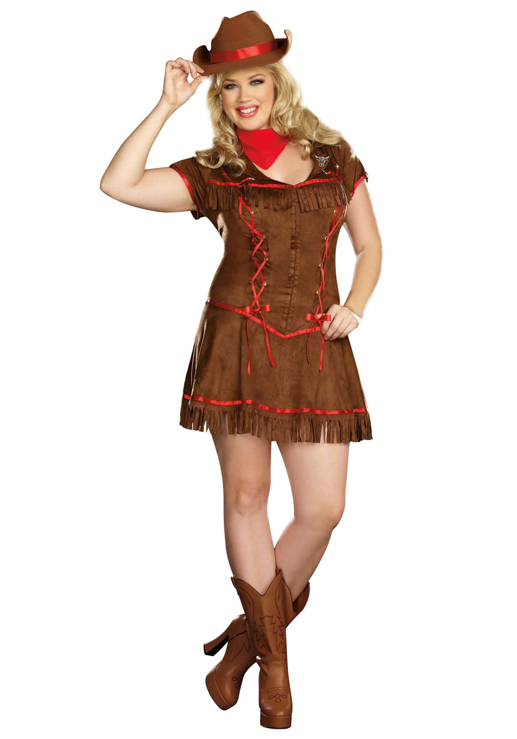 Womens Wild West Cowgirl Western Cowboy Sheriff Fancy Dress Costume All Sizes