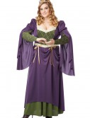 Plus Size Lady in Waiting Costume buy now