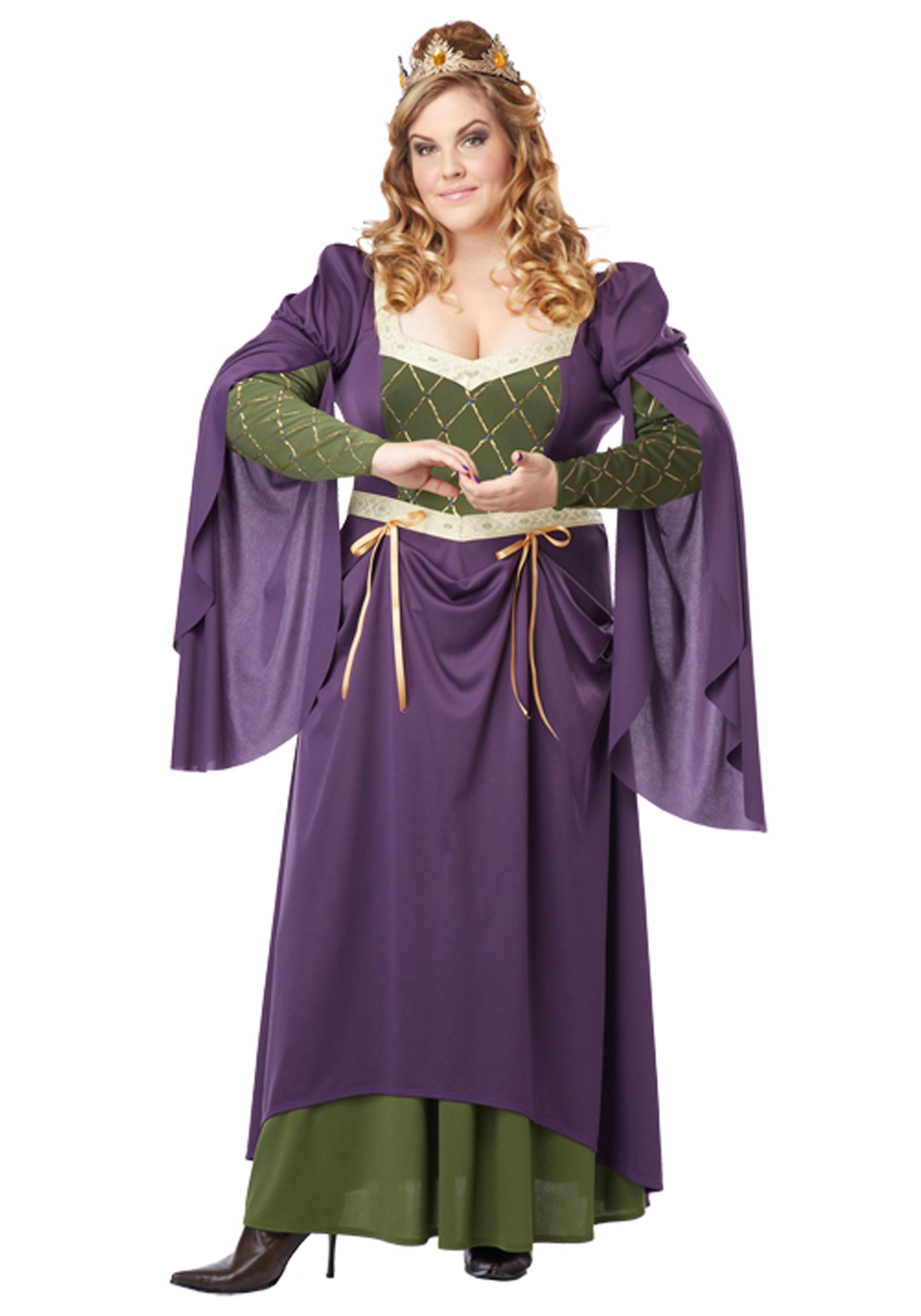 plus size lady in waiting costume