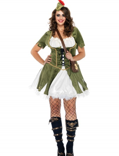 Plus Size Lady Robin Hood Costume buy now