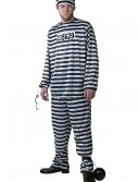 Plus Size Men's Prisoner Costume buy now