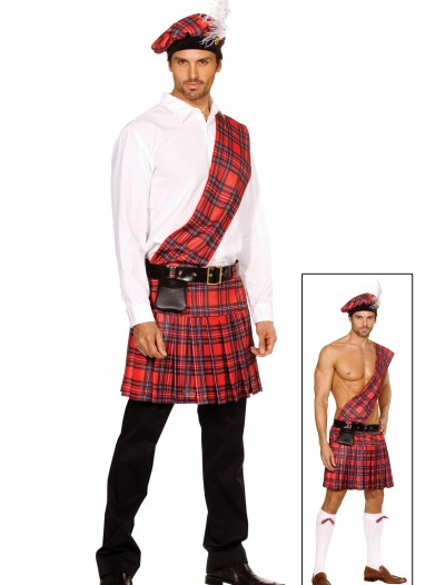 Plus Size Men's Scottish Costume buy now